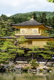 Famous Golden Pavilion Kinkaku-ji in Kyoto Japan Stock Images