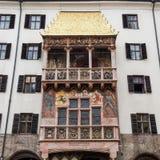 Famous Goldenes Dachl (Golden Roof), Innsbruck, Austria Stock Image