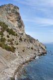 Famous Golitsyn Pathway in Noviy Svet Royalty Free Stock Images