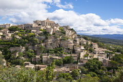 Famous Gordes medieval village Royalty Free Stock Photography