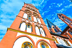 Famous gothic dome in Limburg Royalty Free Stock Photo