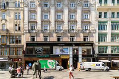 Famous Graben Street In Vienna Stock Images