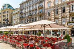 Famous Graben Street In Vienna Royalty Free Stock Photo