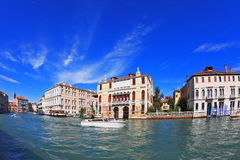 The famous Grand Canal in Venice Royalty Free Stock Images