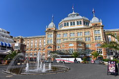 The famous Grand Hotel Amrath Kurhaus hotel located next to Scheveningen beach Royalty Free Stock Image