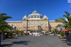 The famous Grand Hotel Amrath Kurhaus hotel located next to Scheveningen beach Royalty Free Stock Images
