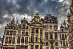 Famous Grand Place Brussels Belgium Royalty Free Stock Photography