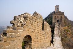 Famous Great Wall Royalty Free Stock Image