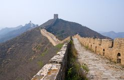 Famous Great Wall Royalty Free Stock Photos