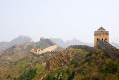 Famous great wall at Simatai Royalty Free Stock Photography