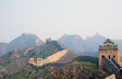 Famous great wall at Simatai Stock Photos