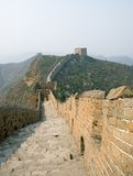 Famous Great Wall in the Simatai Royalty Free Stock Photo