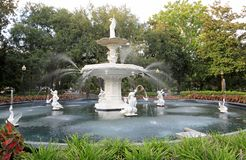 Forsyth fountain royalty free stock image