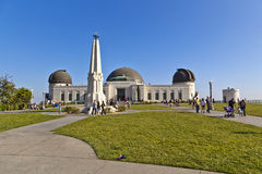 Famous Griffith observatory in Los Angeles Stock Image