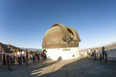 Famous Griffith observatory in Los Stock Photo