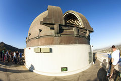 Famous Griffith observatory in Los Stock Images