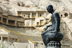 Famous Grottoes In Xinjiang Royalty Free Stock Photo