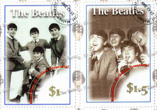 Famous group of The Beatles Stock Photography