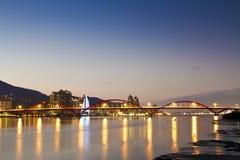 Famous GuanDu Bridge in Taiwan Royalty Free Stock Images