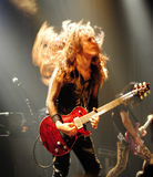 Famous guitar player - Marty Friedman Royalty Free Stock Photography