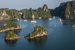 Famous Ha Long Bay Royalty Free Stock Photography