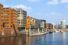 Famous Hafencity nord Stock Photo