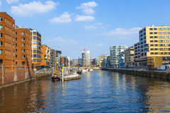 Famous Hafencity nord Stock Photography