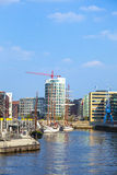 Famous Hafencity nord Royalty Free Stock Photo