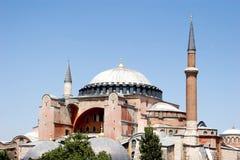 Famous Hagia Sophia Mosque Stock Image