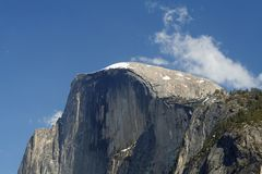 Famous Half Dome in Yosemite royalty free stock photos