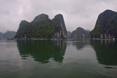 Famous Halong Bay Stock Images