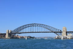 The famous Harbour bridge in Sydney Stock Photography