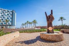 Free Famous Hard Rock Ibiza Hotel, Best Place For Luxury Vacation On Ibiza Island Stock Images - 126623014