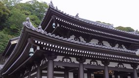 Famous Hase Dera Temple in Kamakura Japan. Travel photography stock video