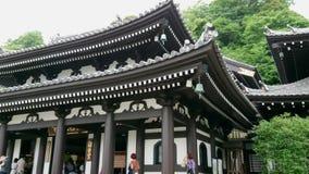 Famous Hase Dera Temple in Kamakura Japan - TOKYO / JAPAN - JUNE 12, 2018. Famous Hase Dera Temple in Kamakura Japan - TOKYO - JUNE 12, 2018 stock video