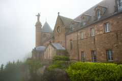 Famous haute-barr castle Stock Images