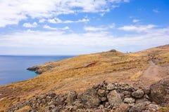 Famous hike trail named Cais do Sardinha Stock Photo
