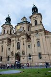 Historic church in Prague Royalty Free Stock Photography