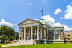 Famous historic city hall in Lake. Office of calcasieu parish district attorney   in Lake Charles, USA Royalty Free Stock Photos