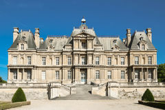 The famous historical castle of Maisons Laffitte, near Paris, France. Stock Photography