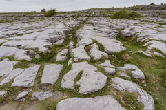 The famous and historical Poulnabrone Dolmen. At Burren, County Clare, Ireland Stock Images