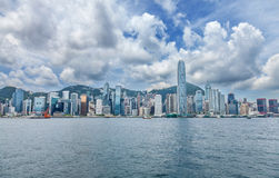 Famous Hong Kong skyline Royalty Free Stock Image