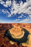 The famous Horse Shoe Bend Royalty Free Stock Images