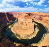 Famous Horse Shoe Bend Royalty Free Stock Images