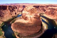Famous Horseshoe Bend in Arizona Stock Images