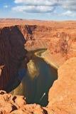The famous  Horseshoe Canyon Royalty Free Stock Photo