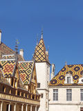 Famous hospice in Beaune. Stock Image