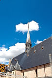 Famous hospice in Beaune. France Royalty Free Stock Photo