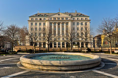 Famous Hotel Esplanade in Zagreb royalty free stock photo