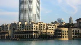 Famous hotel tourist area 4k time lapse Stock Photos